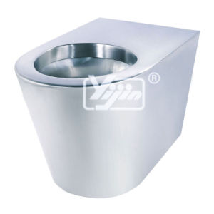 Hand Made Stainless Steel T-304 Toilet Bowl