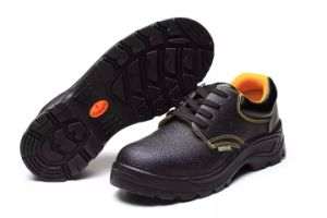 China Factory Industrial Professional Outsole PU/Leather Worker Safety Shoes pictures & photos