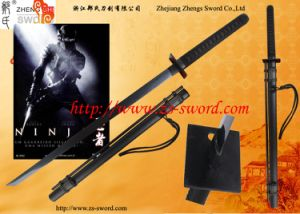 Handmade Full Tang Ninja Sword with Blowing Needles Collectible