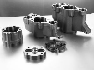 Custom Gray Iron Sand Casting for Oil Pump Assembly