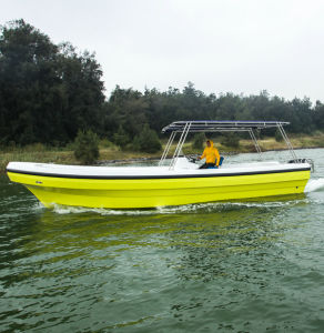 Outdoor Recreation Motor Fiberglass Fishing Yacht for Sale pictures & photos