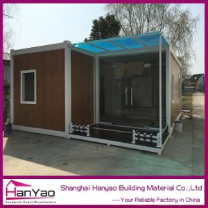 Low Cost Prefab Container House for Staff Home pictures & photos