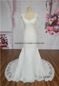 Wholesale New Pattern Bridal Gown Mermaid Floor Length Wedding Dress pictures & photos