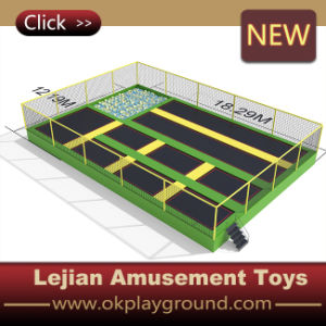Good Standards Super Quality Playful Games Trampoline for Adults (B1503-7) pictures & photos