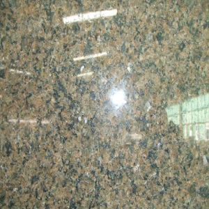 Natural Stone Polished Tiles Tropical Brown Granite