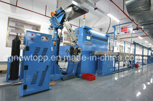 Automatic feedback Skin-Foam-Skin physical foaming cable extruding machine pictures & photos