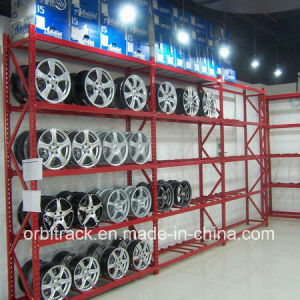 Warehouse Metal Storage Tyre Rack