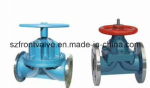 Three Way Lined Diaphragm Valve pictures & photos