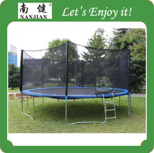 16 Ft Big Exercise Equipment Trampoline Wholesale with Safety Net pictures & photos