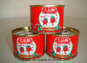 70g Canned Tomato Ketchup with Easy Open Lid pictures & photos