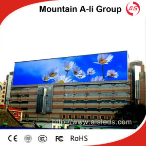 Mountain a-Li Advertising Billboard P10 RGB Outoor LED Display Sign
