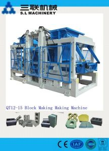 Interlock Cement Brick Block Making Machine Qt10-15