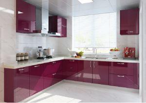 China Simple High Gloss Finish Kitchen Furniture China Kitchen