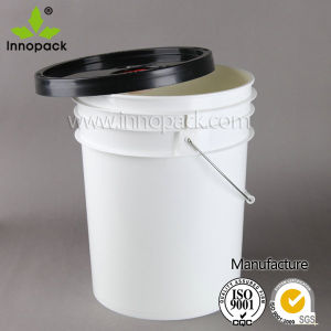 20L Screw Top Lid Plastic Bucket Pail for Oil and Lubricant Oil pictures & photos