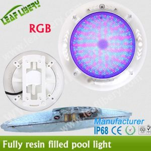 2015 New Resin Filled LED Swimming Pool SPA Underwater Light