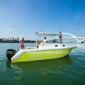 30′ Fiberglass High Speed Motor Sport Fishing Yacht pictures & photos