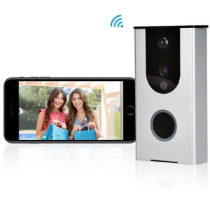 Ring Wireless Video Doorbell with Camera and Speaker Free Mobile APP