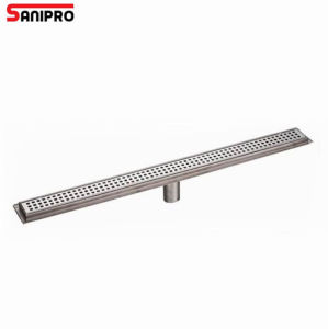 Smart Floor Drain Cover Channel Shower Strip Drain pictures & photos