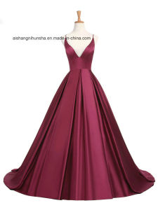 78f2114b8fe5 China Lovemay Ladies Women Stain Backless Nice Evening Gown - China ...