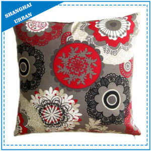 Mandala Pattern Printed Polyester Throw Pillow pictures & photos