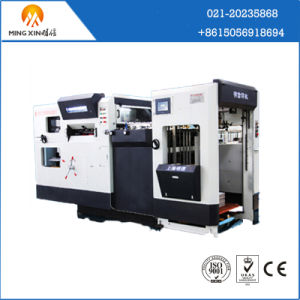 Corrugated Cardboard Die Cutting and Creasing Machine with Stripping