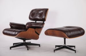 Beau Modern Furniture Charles Eames Lounge Chair And Ottoman Replica