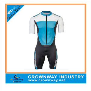 OEM Cycling Speed Suit for Men with Dry Fit Function pictures & photos