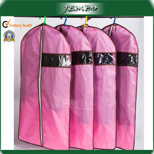 Pink Beautiful Zipper Custom Suit Cover Dress Bag pictures & photos