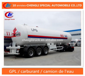 56000L LPG Semi Trailer 56cbm LPG Delivery Trailer pictures & photos