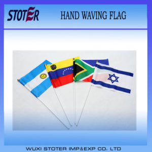 Cheap Stick Flags/Hand Held Stick Flag Promotion/Hand Held Flags