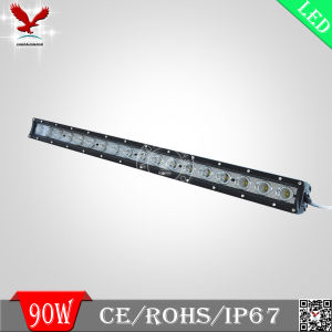 Light Bar, UTV LED Light Bar, Super Bright 90W CREE