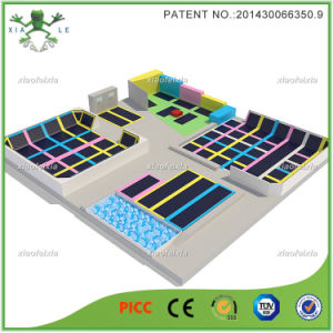 New Design Jumping Trampoline Indoor Park pictures & photos