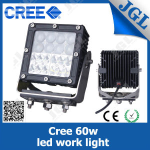 60W 12V 24V LED Car Light, Headlight Jeep ATV 4WD