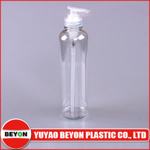 300ml Plastic Shampoo Pump Pet Bottle (ZY01-B127)