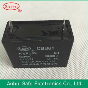 Cbb61 4UF 450V Capacitor with Wires or Pins pictures & photos