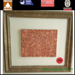 Fire Red Warm Granite Outdoor Square Mosaic
