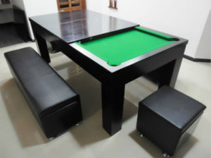 7ft Pool Table With Dining Top