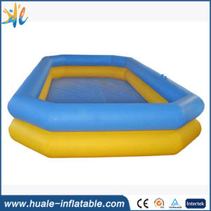 PVC Tarpaulin Inflatable Swimming Pool for Family Use