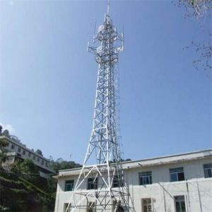 Low Price Steel Tubular Pole Top Build Tower Telecommunication Tower pictures & photos