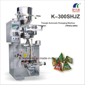 Triangle Automatic Packing Machine with Rotary Plate pictures & photos