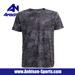 Anbison-Sports Polyester Short Sleeve T-Shirt in Different Colours pictures & photos