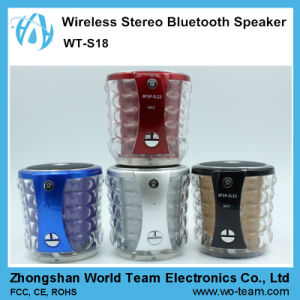 2016 New Wireless Portable Professional Active Stereo Bluetooth Speaker