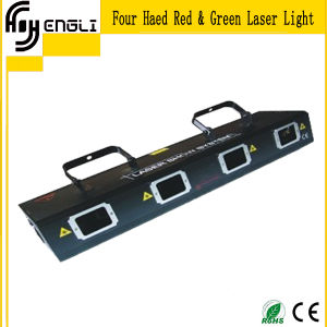 4 Eyes Head Red Green Laser Light (HJ-006)