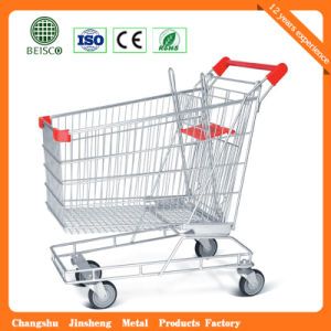 Js-Tau01 China Manufacturer Wire Shopping Trolley pictures & photos