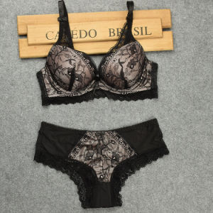 52ed0af06b7a0 China Wholesale Ladies Underwear Half Cup Lace Bra - China Bra Set ...