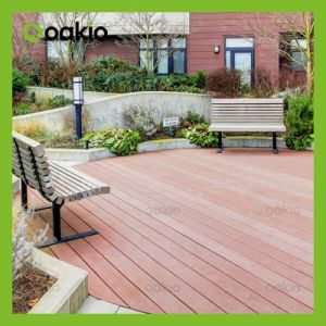 Outdoor Wood Plastic Composite Decking for Swimming Pool