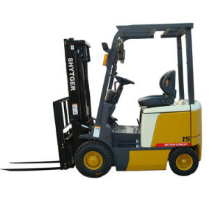 1.5 Ton Battery Operated Forklift pictures & photos