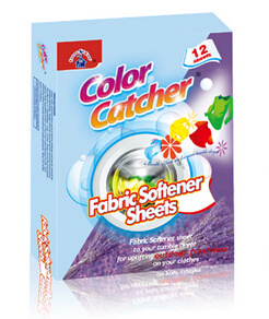 Hot Color Catcher Mixed Washing Helpers Helper Magnetic Sheets