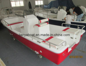 Liya 7.6m Panga Boat for Fishing China Fiberglass Fishing Boat pictures & photos