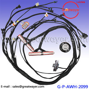 80 pin ecu connector gmc 5 0l & 5 7l engine wire harness